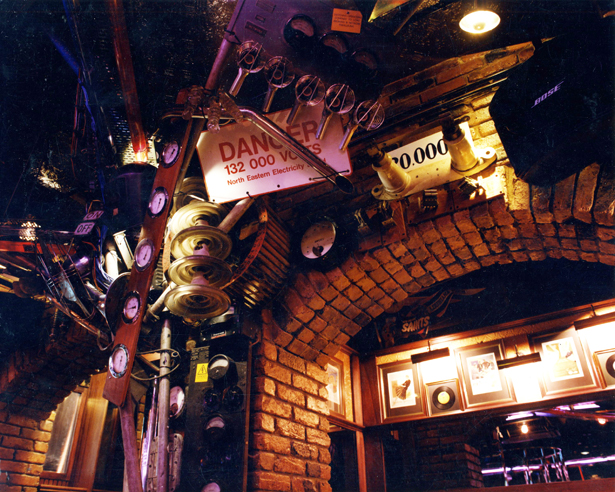 Quirky signs at Buzz Bar London