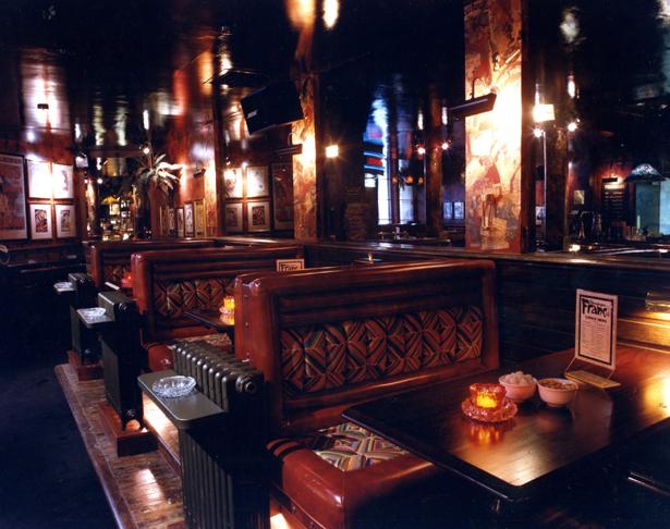 Franks Bar seating area