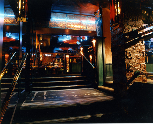 Harpos Bar Stairway