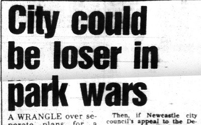 Newcastle Park Wars