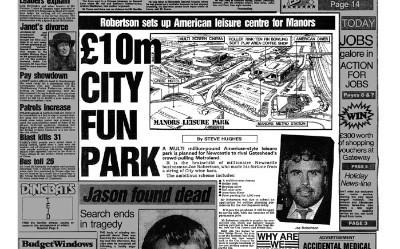 £10m City Fun Park