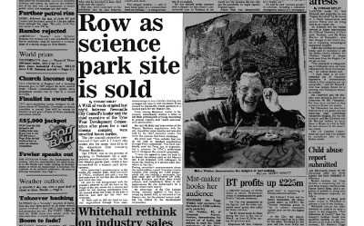 Row as science park site is sold