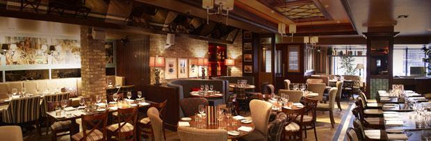 Harrys bar restaurant image interior