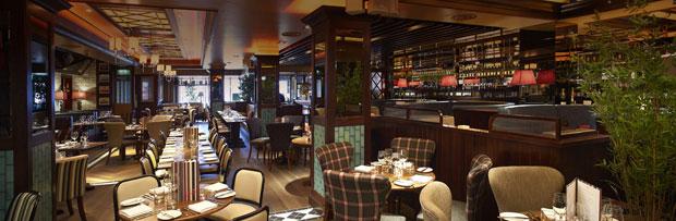Harrys bar tea area