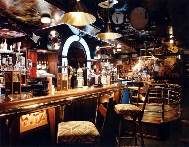 Buzz Bar London Bar area
