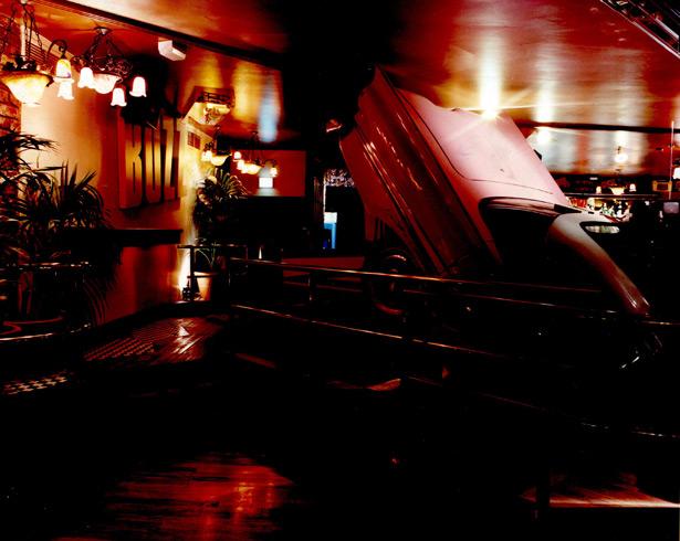 Car in Bar Area at Buzz Bar London