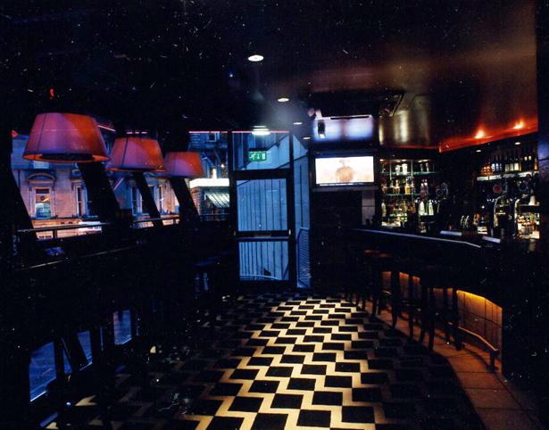 The Longbar Internal Patterned Floor