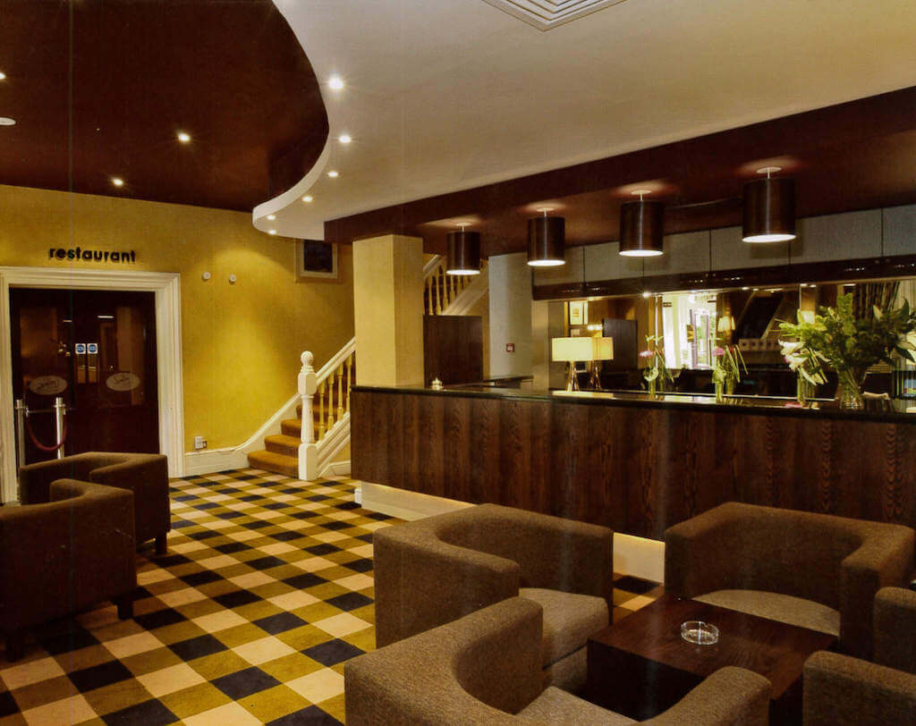 New Northumbria Hotel Reception
