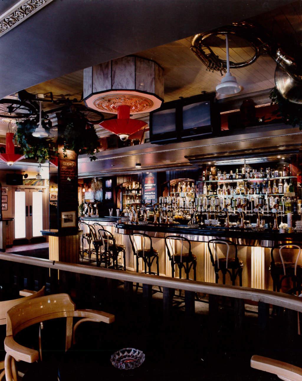 Slap Harry's Bar Area