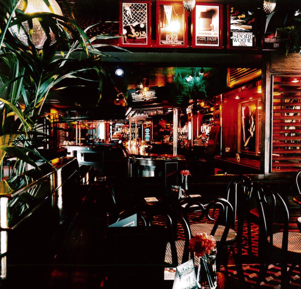 Sloanes bar area at night