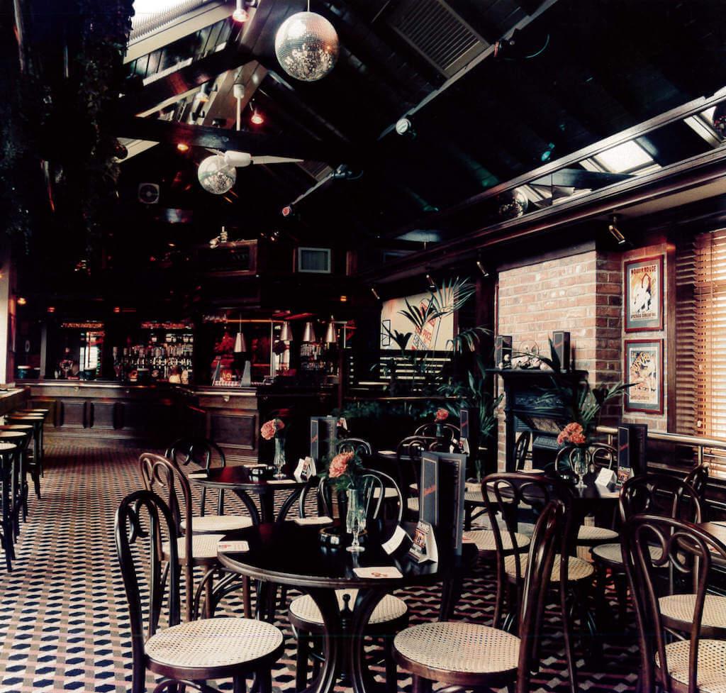 Sloanes bar seating area