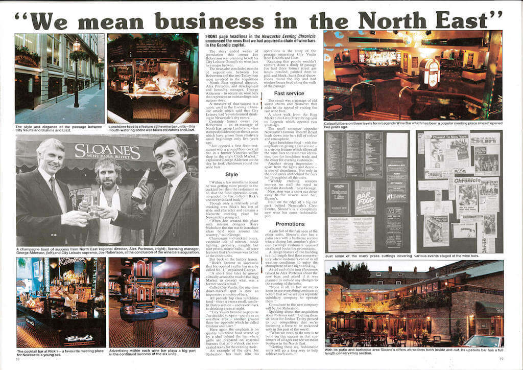 Joe Robertson Means Business News Article