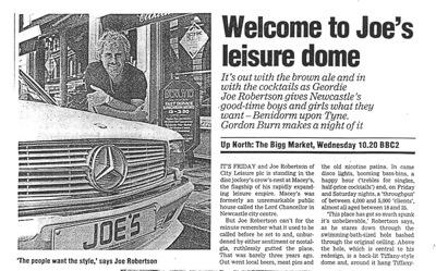 Joe Robertson's Leisure Dome