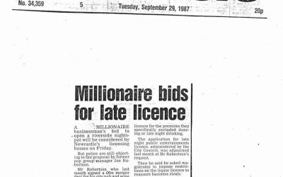 Late Licence Bid