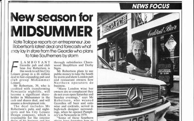 New Season for Midsummer