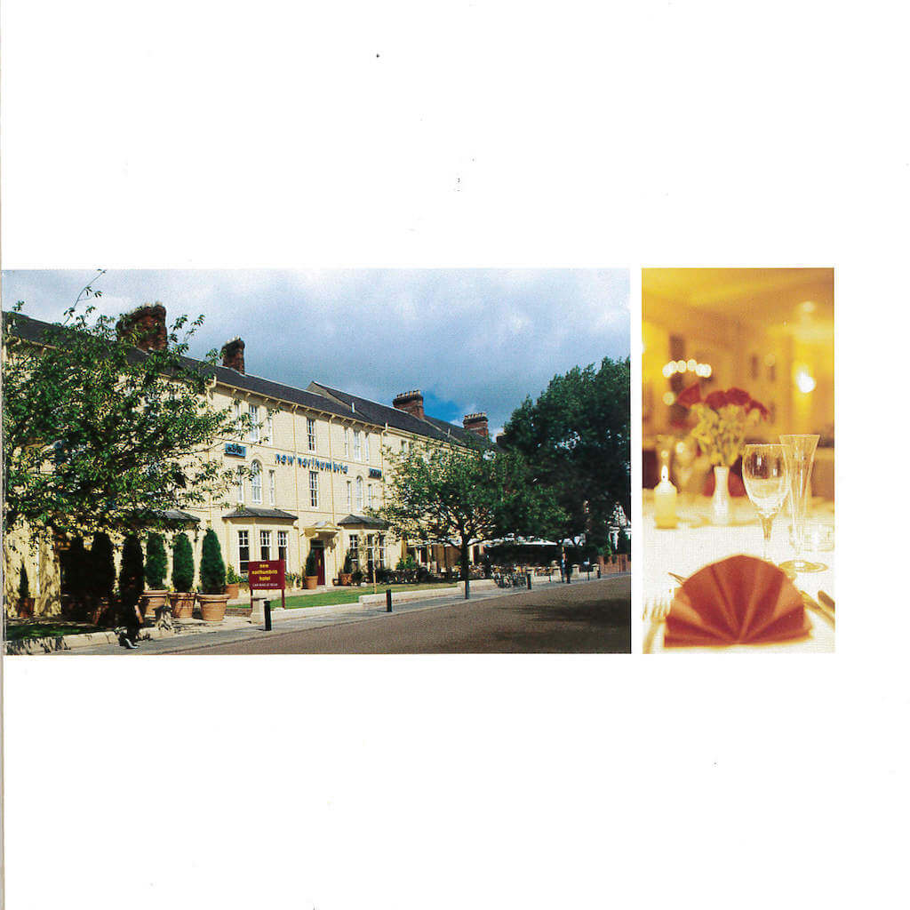 The New Northumbria Hotel Booklet Page 4